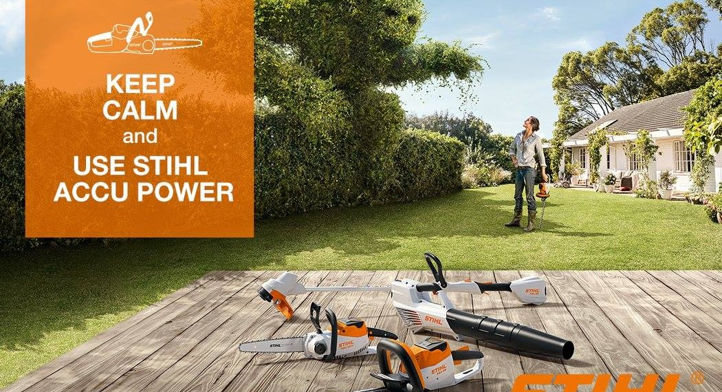 Accu Power. Made by STIHL
