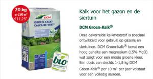 DCM groen kalk